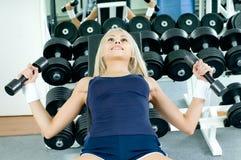 спорт девушки Стоковое Фото