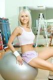 спорт девушки Стоковые Фото