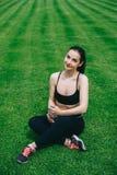 спорт девушки Стоковая Фотография RF