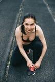 спорт девушки Стоковая Фотография