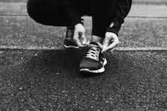 спорт девушки Стоковое фото RF