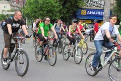 Спорт задействуя в городе Стоковая Фотография