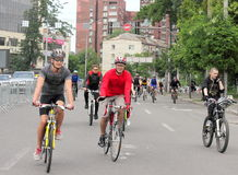 Спорт задействуя в городе Стоковое Фото