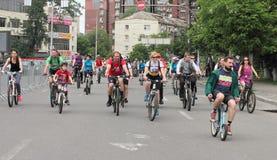 Спорт задействуя в городе Стоковая Фотография RF