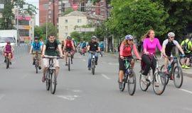 Спорт задействуя в городе Стоковые Фото