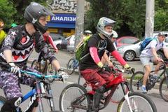 Спорт задействуя в городе Стоковое Изображение RF