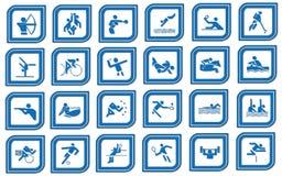 спорт иконы Стоковое Фото