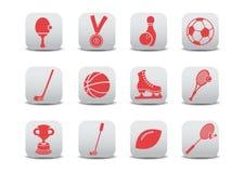 спорт икон Стоковое Изображение RF