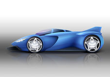 спорт иллюстрации автомобиля Стоковое Изображение RF