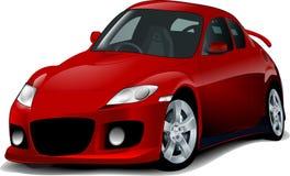 спорт иллюстрации автомобиля Стоковые Фотографии RF