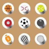 спорт конструкции шариков установленный вы Стоковая Фотография RF
