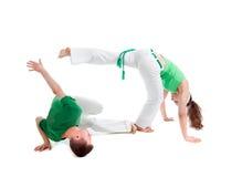 спорт контакта capoeira Стоковая Фотография