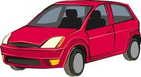 спорт красного цвета автомобиля Стоковое Изображение RF