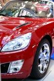 спорт красного цвета автомобиля Стоковые Изображения RF
