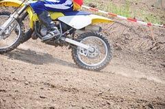 спорт мотоцикла подныривания Стоковое Изображение