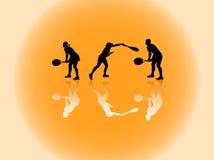 спорт силуэтов Стоковые Изображения RF