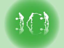 спорт силуэтов Стоковая Фотография RF