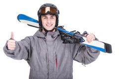 спорт снежка лыжи отслеживает зиму стоковое фото rf