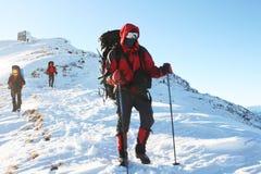 спорт снежка лыжи отслеживает зиму Стоковая Фотография