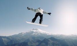 Спорт сноубординга Стоковое фото RF