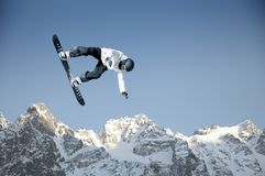Спорт сноубординга Стоковое Изображение RF