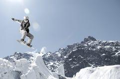 Спорт сноубординга Стоковая Фотография RF