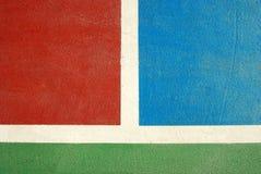 Спорт суда Futsal крытый Стоковое Изображение RF