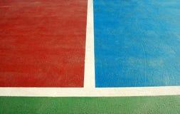Спорт суда Futsal крытый Стоковая Фотография