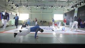 Спорт, тренировка, перед боем, конкуренция