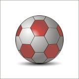 спорт футбола футбола шарика реквизитный иллюстрация вектора