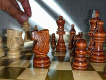 спорт, шахмат Стоковые Фотографии RF