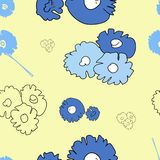Pattern, flowers royalty free illustration