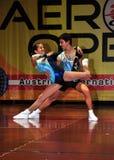 спорт 2010 aerobics Стоковое Изображение RF