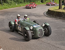 Спорт B1 HW Alta 2000 (1949) в Mille Miglia 2016 Стоковые Изображения