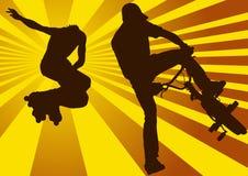 спорт extrime Стоковая Фотография RF
