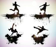 Силуэты спорта Стоковые Фото