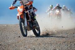 Спорт Motocross Стоковые Фотографии RF
