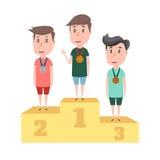 Спорт ` s детей иллюстрация штока