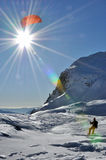 Спорт Snowkiting