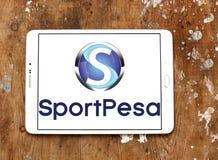 Спорт SportPesa держа пари логотип компании Стоковые Фото