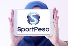 Спорт SportPesa держа пари логотип компании Стоковые Изображения RF