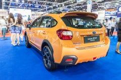 Спорт Subaru XV, кроссовер конструировал встретить inpossible предпологает стоковая фотография rf