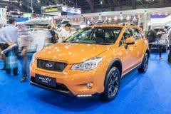 Спорт Subaru XV, кроссовер конструировал встретить inpossible предпологает стоковое фото rf