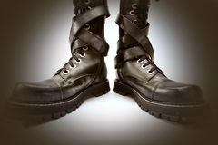 способ ботинок Стоковые Фото