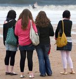 способ пляжа Стоковые Изображения RF