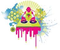 Способ DJ иллюстрация штока