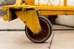 Сползать колесо Стоковые Фото