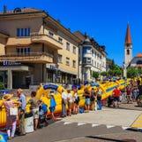 Сползите мое событие дня радио Zurisee в Wallisellen, Швейцарии Стоковые Изображения RF