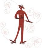 сподручный человек Стоковое Изображение RF