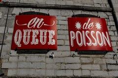 Справедливая ветчина Байонна Франция Стоковые Изображения RF
